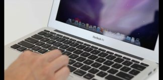 Ilustrasi macbook air