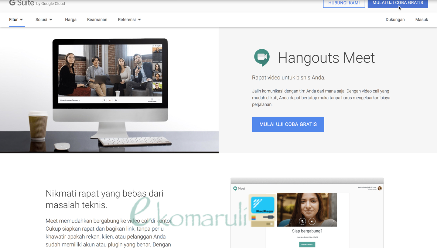 G Hangout Meet
