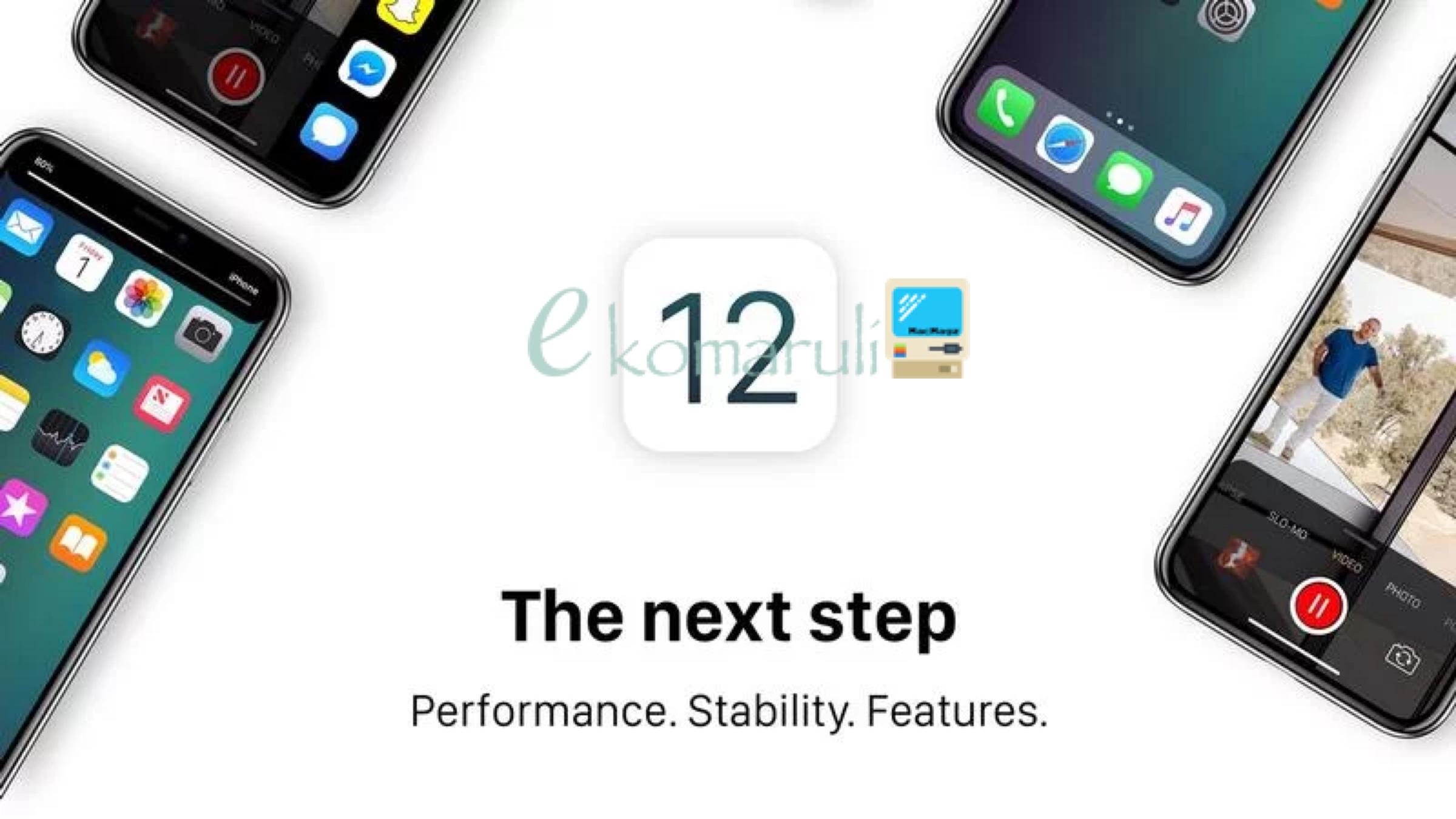 Ilustrasi iOS 12