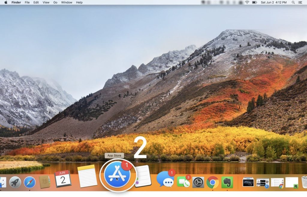 Proses update macOS 10.13.5